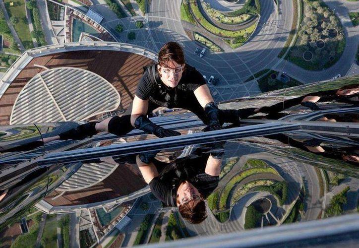 'Misión Imposible:Protocolo Fantasma', cuarta parte de la saga, tuvo locaciones en Dubai, Emiratos Arabes. (Paramount Pictures)