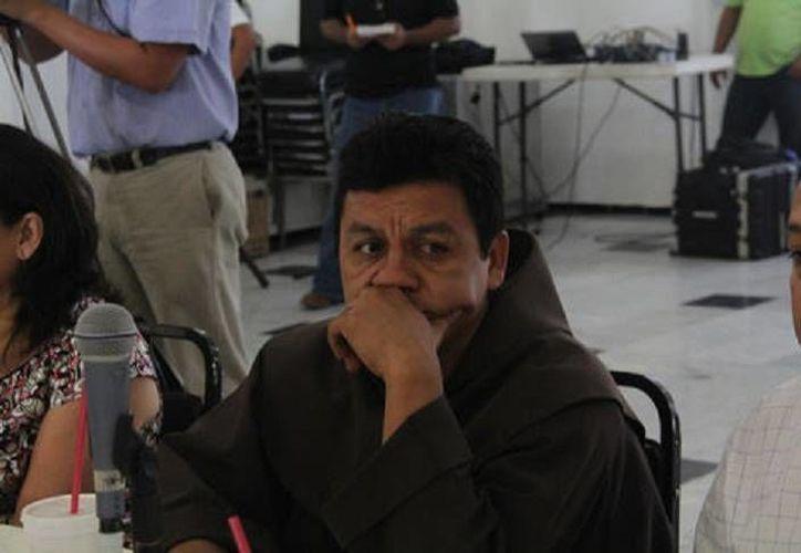 Fray Thomas Castillo: no opusimos resistencia para evitar que nos fueran a lastimar. (Milenio)