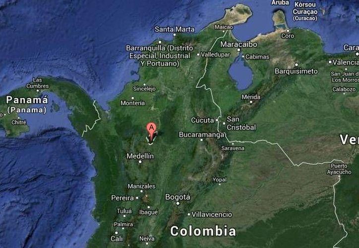 Las víctimas del accidente de un helicóptero en Colombia fueron dos militares, un integrante de la policía, un sacerdote castrense y el piloto. (Google Maps)