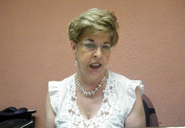 Ahora se ventilan las demandas del 2007: Ana María Conesa Ruiz. (Jaime Tetztpa/ SIPSE)