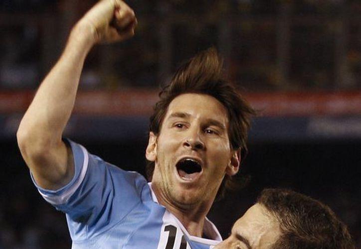 """La """"Pulga"""" ha convertido 12 goles en este año, con lo que igualó el récord de Batistuta. (Agencias)"""