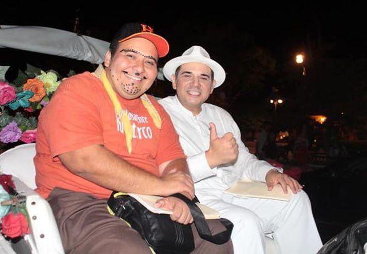 El creador de la iniciativa, Enrique Vidal, comentó que se busca rescatar el teatro regional. (Novedades Yucatán)