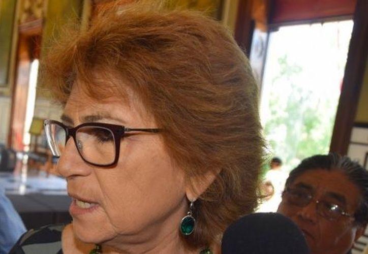 """María Fritz Sierra, secretaria general de Gobierno, aseguró que se busca determinar los límites territoriales con Quintana Roo, sin que se genere """"rencillas"""" entre ambos gobiernos. (Redacción/SIPSE)"""