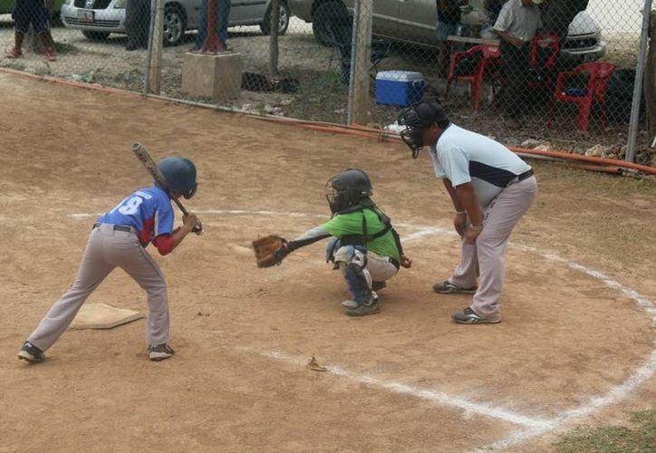 La categoría 7-8 años tiene récord en juegos ganados. (Raúl Caballero/SIPSE)