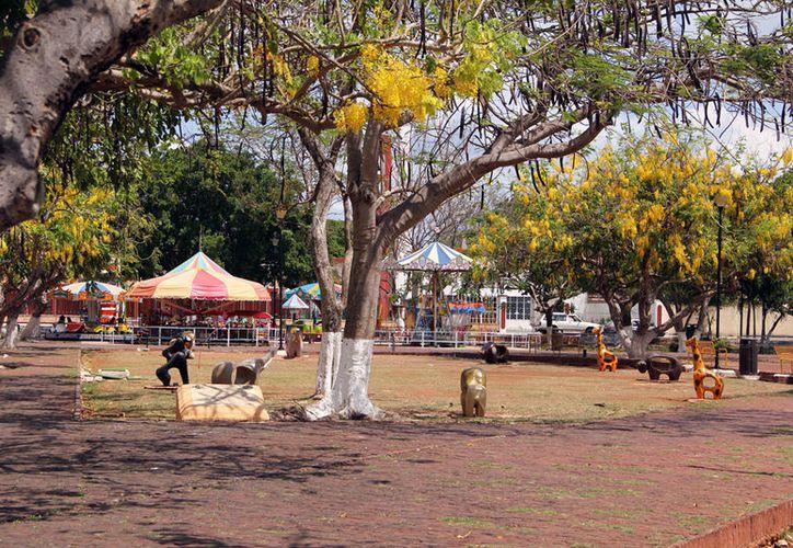 Dos puestos ambulantes no pudieron comprobar sus instalaciones al alumbrado público. (Archivo/ Milenio Novedades)