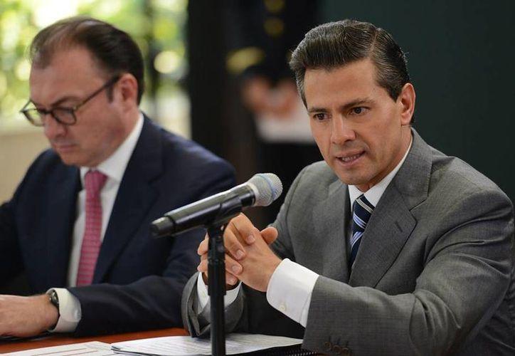 El Presidente aseguró que el Gobierno federal crea condiciones para que los proyectos de emprendedores y empresarios florezcan. (Facebook/Enrique Peña Nieto)