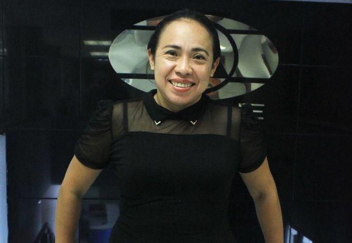 Este miércoles se presentará la obra 'Las muñecas', en el centro cultural Tapanco a las 20:00 horas con entrada gratuita. En la foto, Gilma Tuyub autora y directora de la obra.(Milenio Novedades)