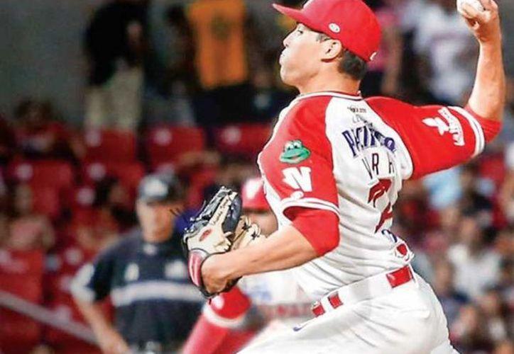 Con los Venados de Mazatlán, Eduardo Vera dejó números aceptables.