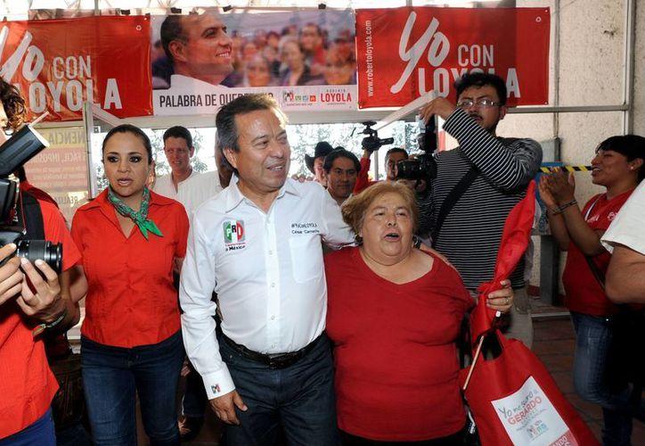 César Camacho Quiroz, titular del PRI, asegura que las propuestas de su partido son robustas. (Notimex)