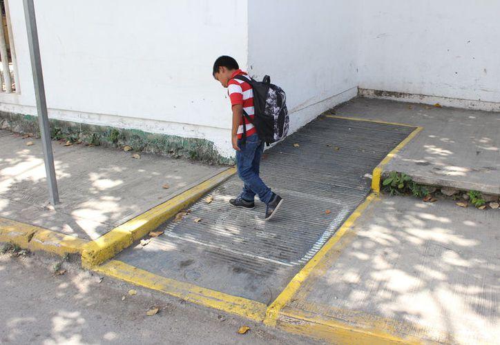 Al término del año se prevé que 50% tengan espacios adaptados. (Joel Zamora/SIPSE)