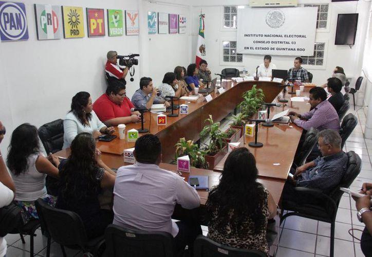 El Instituto Electoral de Quintana Roo realizó cómputos finales y conteo de actas. (Luis Soto/SIPSE)