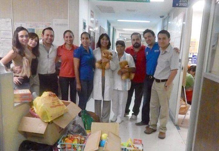La Fundación Cirplastic MéxicoA.C. invita al público en general para donar juguetes, mismos que se repartirán en la segunda semana de diciembre a niños que se encuentren hospitalizados en las diferentes instituciones de salud pública. (SIPSE)