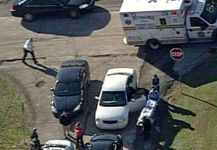 Vista aérea de la zona cercana a la Brashear High School donde sucedió el tiroteo. (Agencias)
