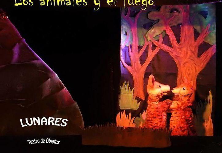 """""""Los animales y el fuego"""" se presentará este domingo. (Foto: Redacción)"""