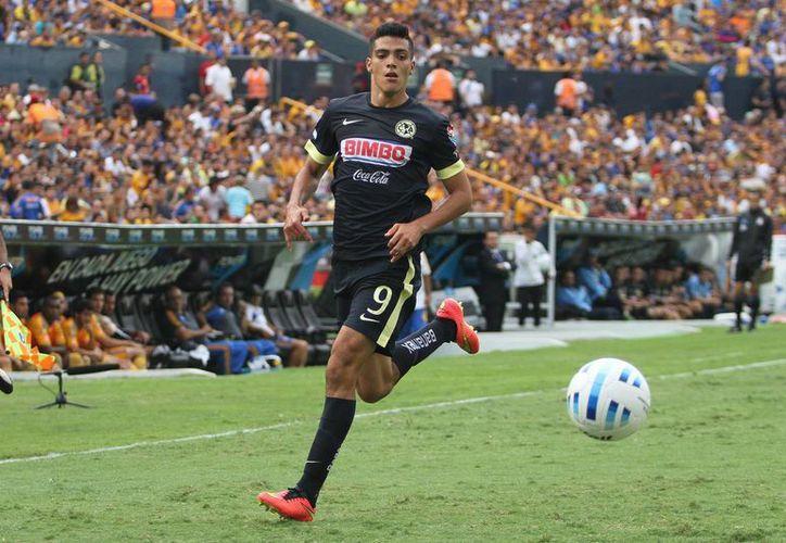 Raúl Jiménez lidera la tabla de goleo del torneo Apertura 2014 con 4 tantos. (Foto: Jam Media)