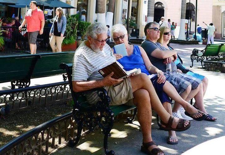 Visitantes extranjeros expresaron la percepción positiva que tienen sobre territorio yucateco. (SIPSE)