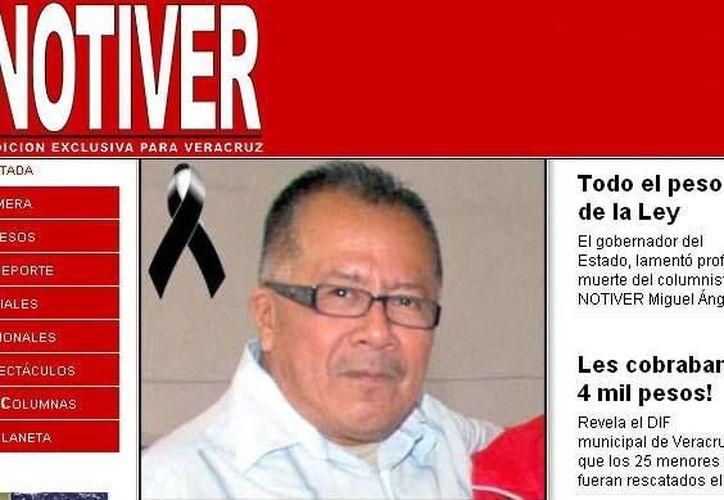 Notiver exige el esclarecimiento del asesinato de 'Milo Vela'. (clasesdeperiodismo.com)