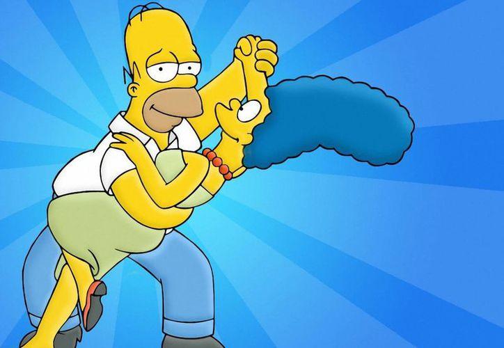 Homero y Marge se separan legalmente y él se enamora de su farmacéutica, interpretada por Lena Dunham, actriz y creadora de la serie 'Girls'. (Sitio oficial/ The simpsons)