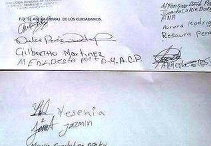 Habitantes inconformes enviaron un escrito a las autoridades. (Rossy López/SIPSE)