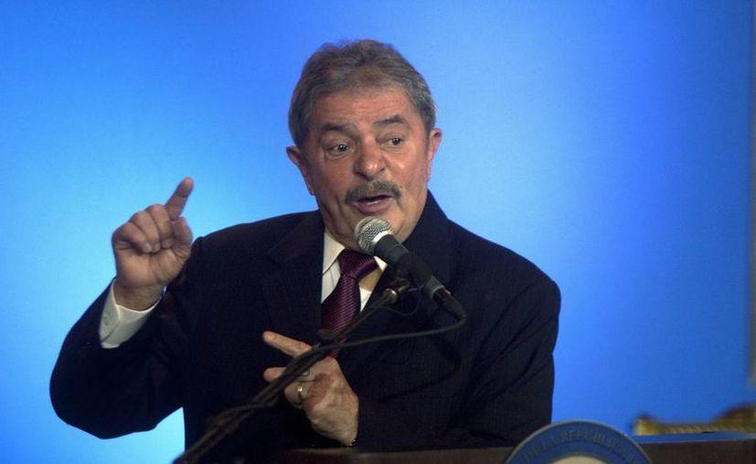 El expresidente brasileño Luiz Inácio Lula da Silva. (Archivo/EFE)