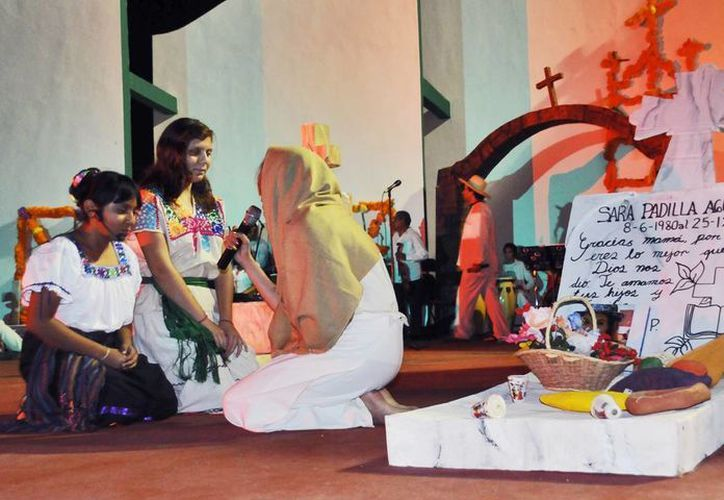 La obra representará una de las mayores tradiciones como lo es la celebración del Día de Muertos. (Cortesía/SIPSE)