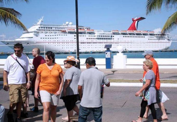 La Isla de las Golondrinas fue el destino que tuvo el mayor crecimiento en recepción de turistas durante 2014. (Archivo/SIPSE)