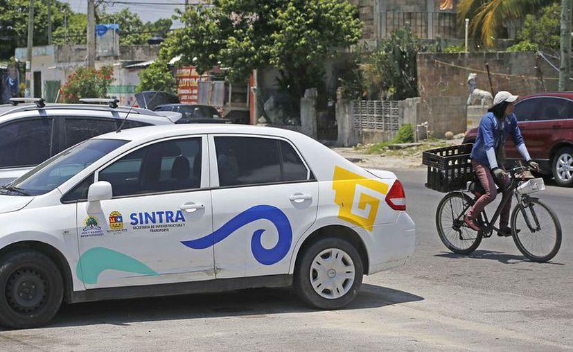 El operativo obedeció prácticamente para posicionar la presencia de Sintra en el municipio. (Jesús Tijerina/SIPSE)
