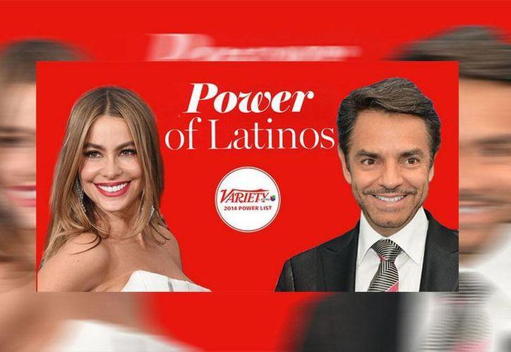 El triunfo de actores latinos como Sofía Vergara y Eugenio Derbez son vistos como buenos modelos a seguir para la comunidad. (varietylatino.com)