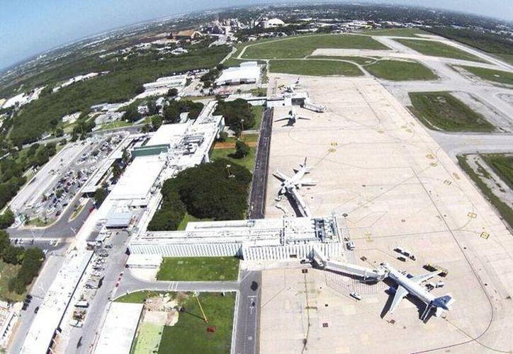 El aeropuerto internacional de la ciudad de Mérida es uno de los más rentables de México, según la empresa que lo opera Asur. (Milenio Novedades)