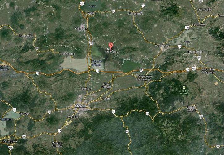 La víctima era alcalde de la municipalidad de Santa Ana Maya. (Google Maps)
