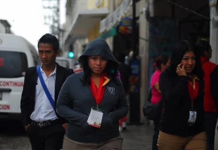 Durante el domingo, la masa de aire frío continuará y se esperan para Yucatán, mínimas de 10.0 a 14.0 grados Celsius. (SIPSE)