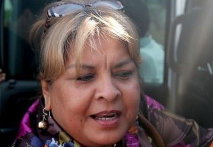 La ex alcaldesa denunció que en su detención no le fue presentada una orden de aprehensión por lo que no bajo de su vehículo. (Archivo/SIPSE)