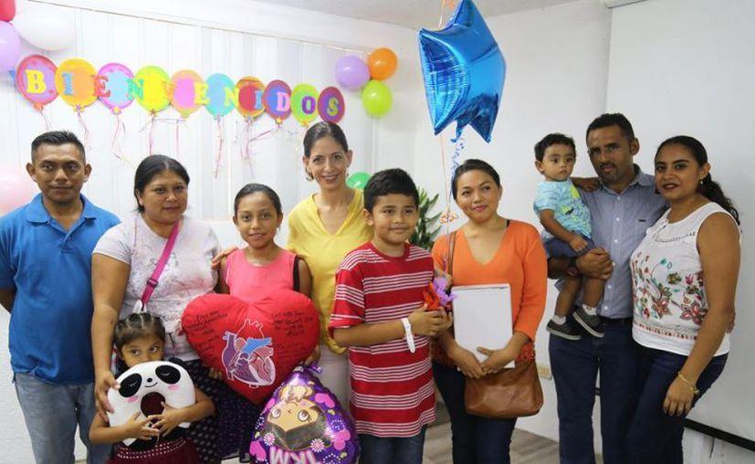 Del total de beneficiarios, ocho fueron yucatecos. (Foto: DIF Yucatán)