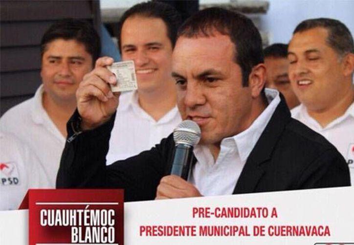 A Cuauhtémoc Blanco apenas inició sus aspiraciones por la alcaldía de Cuernavaca abanderado por el PSD, le llovieron críticas y amenazas. (altonivel.com.mx)