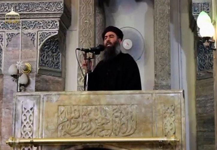 El Ministerio de Defensa de Rusia dijo en junio que podría haber matado a Baghdadi cuando uno de sus ataques aéreos afectó a una reunión de comandantes estatales islámicos. (Reuters)