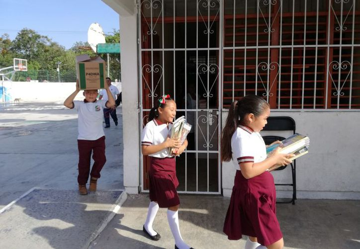 Beneficiarán a los alumnos de varias escuelas del municipio. (Sara Cauich/SIPSE)