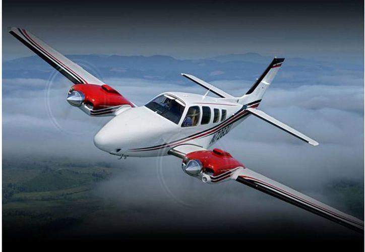 La aeronave cayó a tierra el viernes en la tarde. (la.hawkerbeechcraft.com)