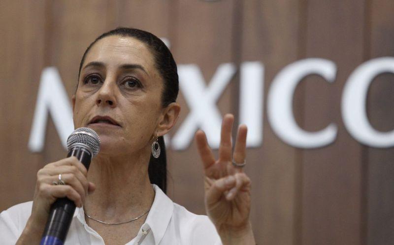 Claudia Sheinbaum, promete general 500 mil empleos estables en la CDMX. (Foto: El Financiero)
