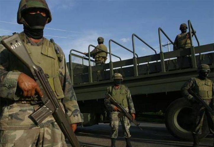 La justicia militar se armoniza con el nuevo sistema penal para preservar la presunción de inocencia de los uniformados. (Excélsior)
