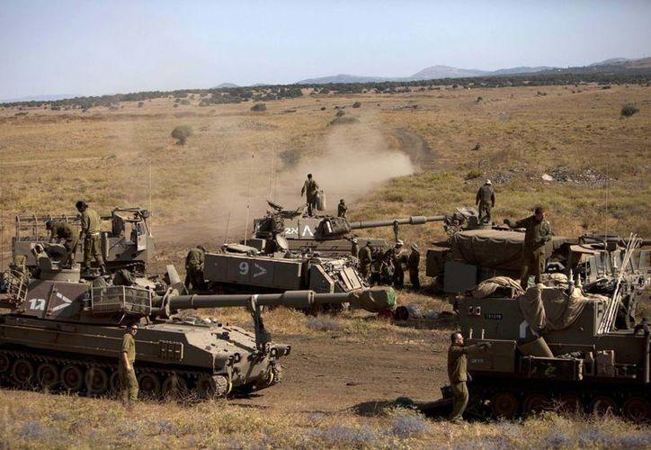 Soldados israelitas en el Golan, en la frontera con Siria. (Agencias/Foto de contexto)