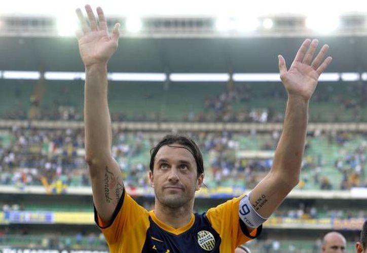 El club Hellas Verona en donde milita el defensor Rafael Márquez cerró la temporada con un empate ante la Juventus. (AP)