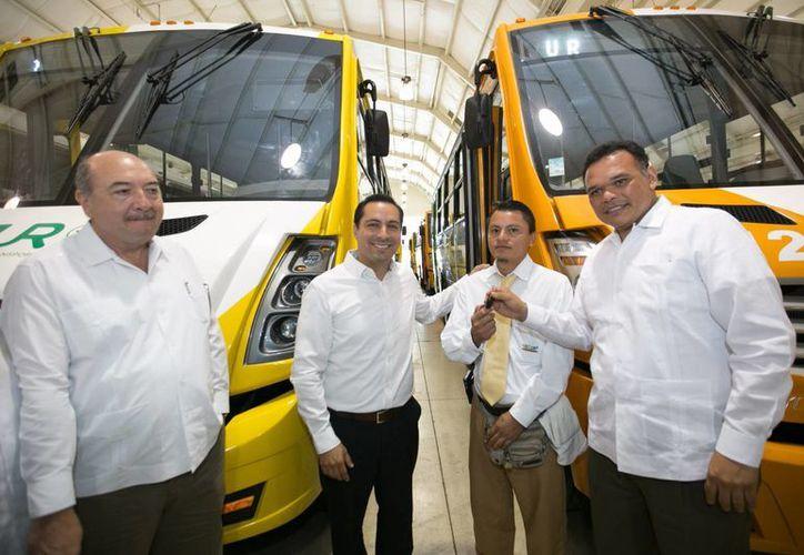 El Ayuntamiento de Mérida se adhiere al proyecto Situr, que ya cuenta con 59 nuevas unidades. (Foto cortesía del Gobierno de Yucatán)