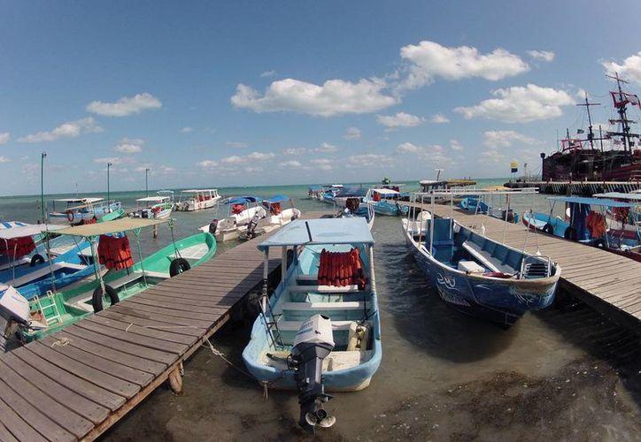 El puerto se mantuvo cerrado debido a las condiciones climáticas. (Juan Estrada/SIPSE)