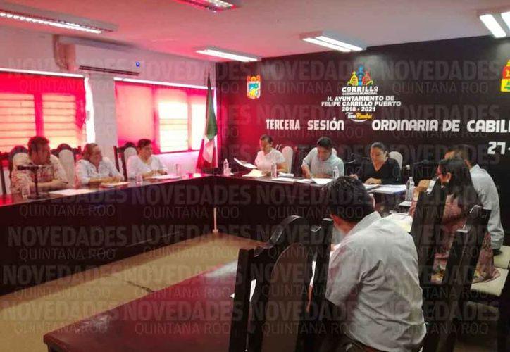 """El Cabildo aprobó en Sesión Ordinaria el plan """"B"""". (Jesús Caamal/SIPSE)"""