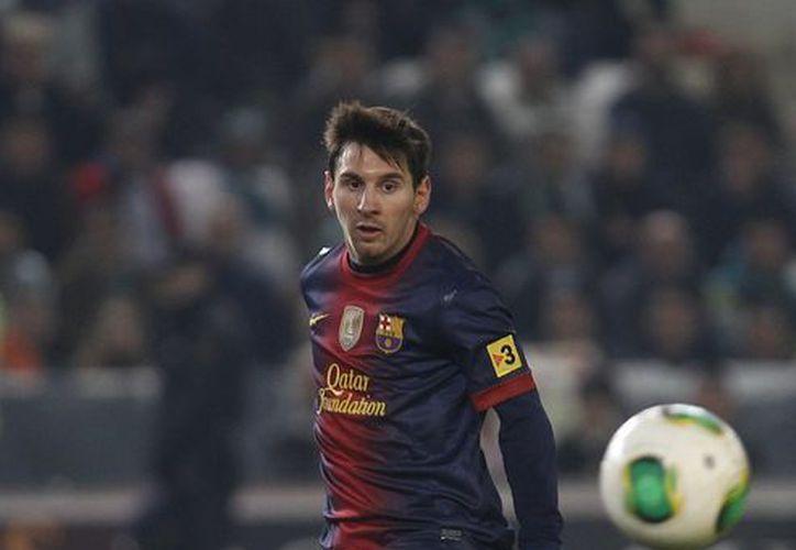 Lionel Messi aumentó su récord de goles en el año a 88. (Foto: Agencias)