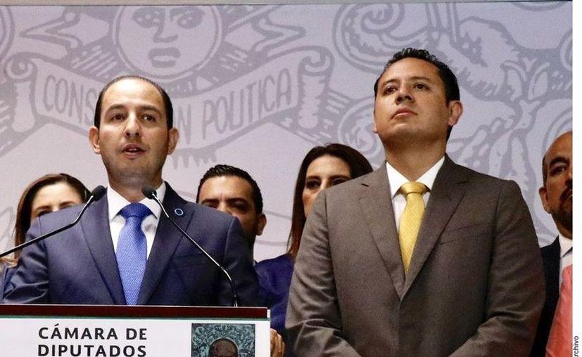 Los dirigentes expusieron su postura ante afectaciones en la economía mexicana. (Agencia Reforma)
