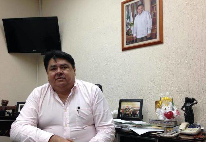 Enrique Magadán Villamil dijo que el jueves le notificaron del premio. (Milenio Novedades)