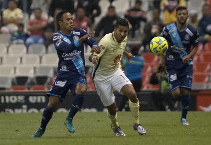 América siguen sin mejorar, y lo demostró al empatar a cero goles ante un sorpresivo Puebla de José Saturnino Cardozo.(Jam media)