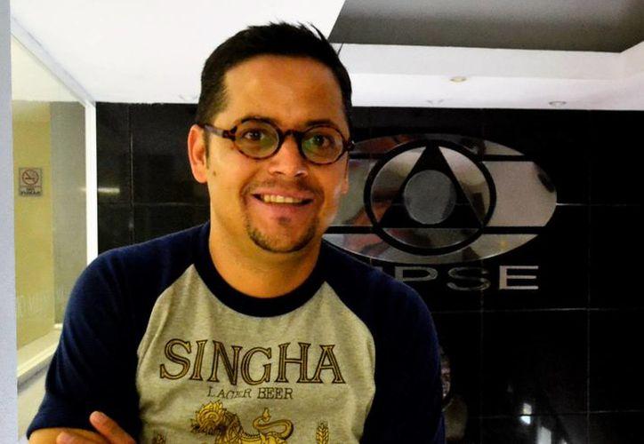 Gerardo Pablo cuenta con 19 años de carrera artística en la cual ha grabado 12 discos. (Daniel Sandoval/ Milenio Novedades)