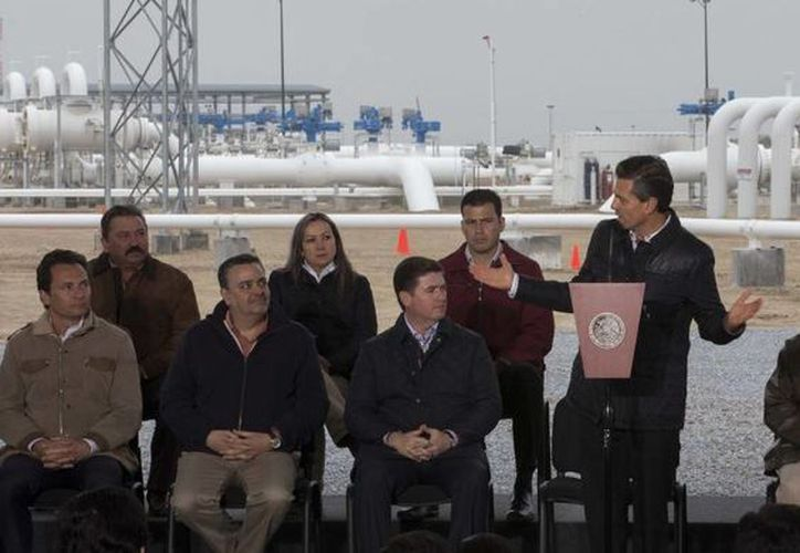 Peña Nieto recordó que una de las prioridades de su gobierno es la infraestructura. (presidencia.gob.mx)